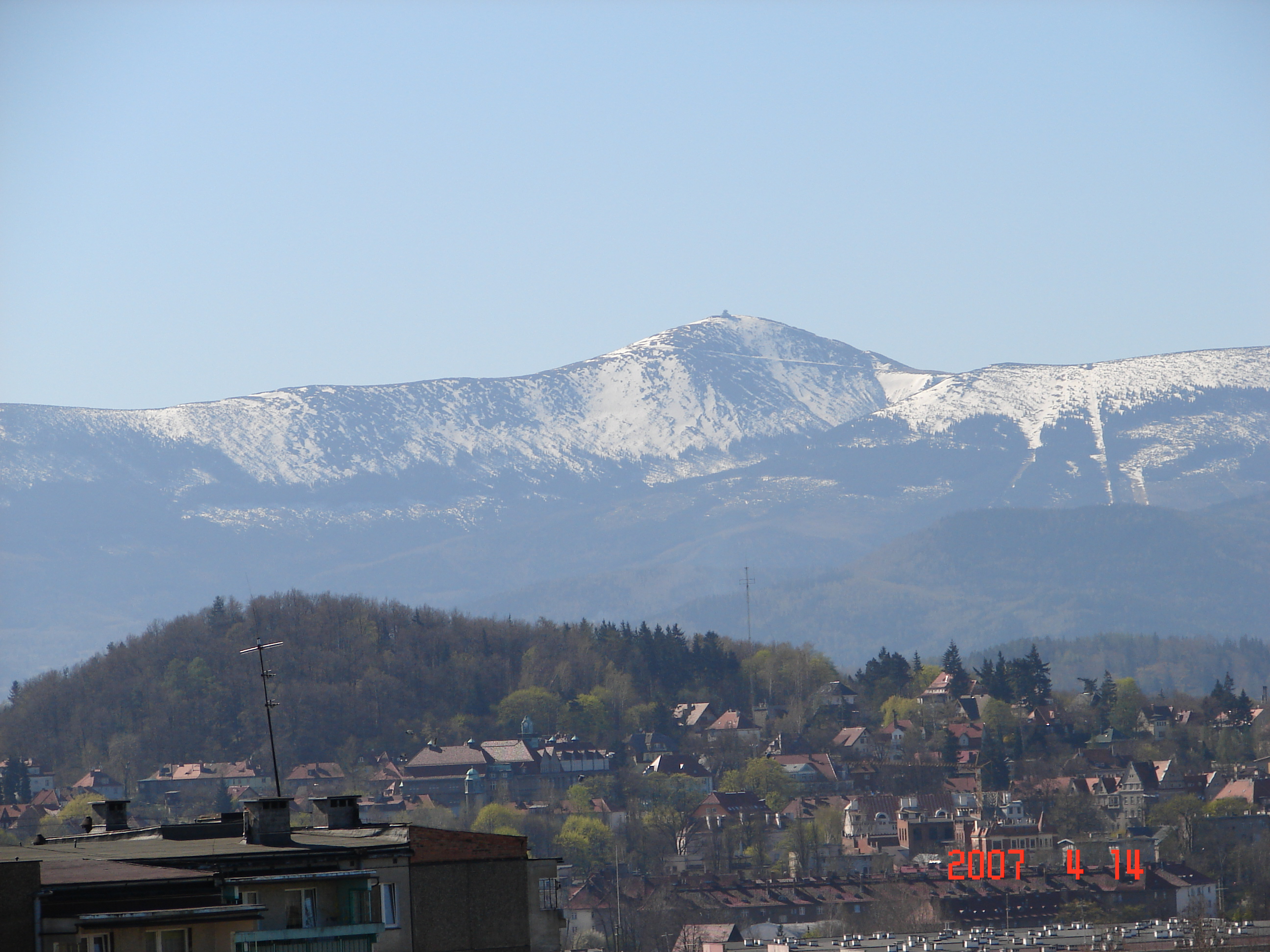 File Jelenia Góra widok na Śnieżkę  panoramio jpg   -> Kuchnia Na Wymiar Jelenia Góra