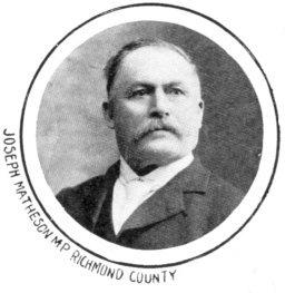 Joseph Matheson Canadian politician