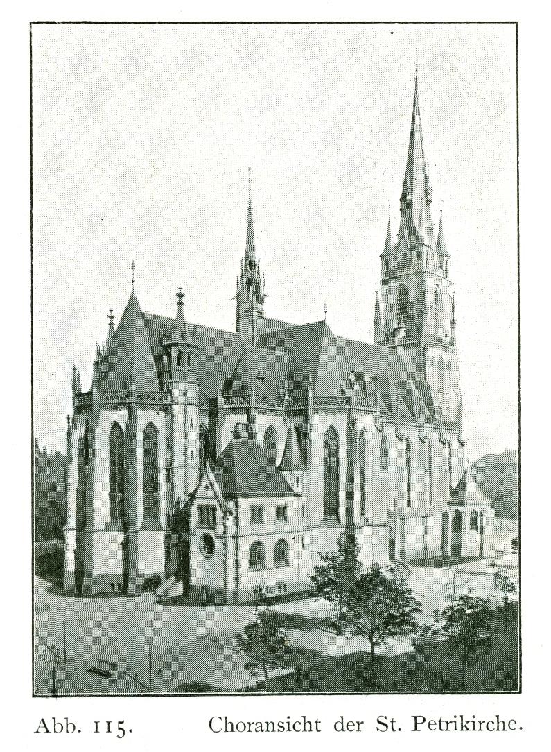 datei kirche st peter in d sseldorf friedrichstadt 1898. Black Bedroom Furniture Sets. Home Design Ideas