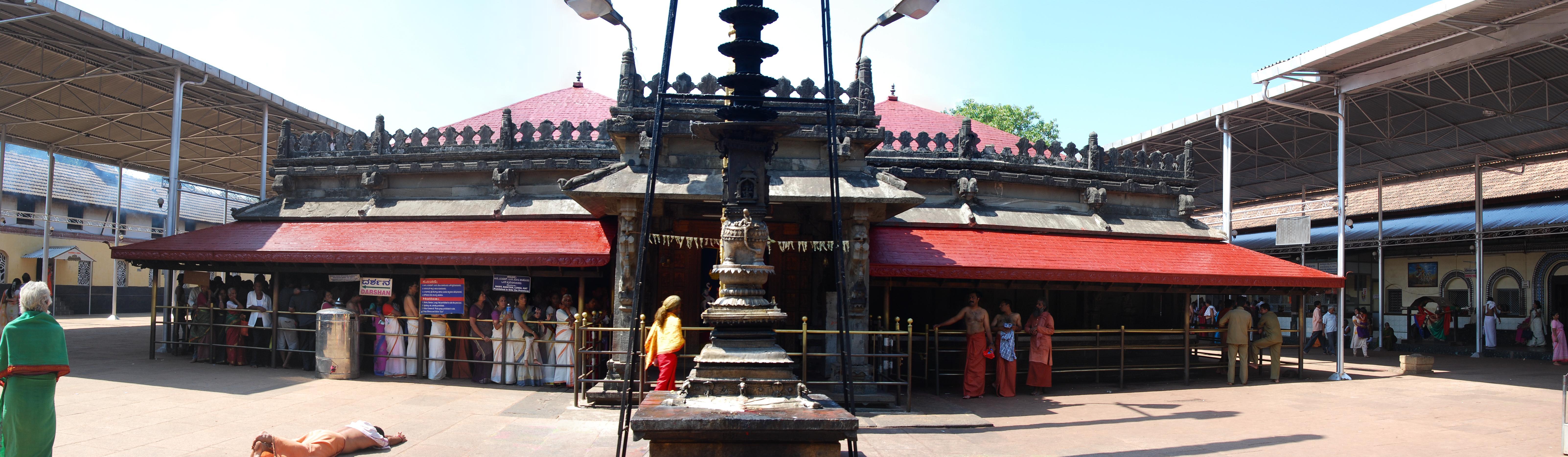 கொல்லூர்  மூகாம்பிகை Kollur_Mookambika_Temple_20080123