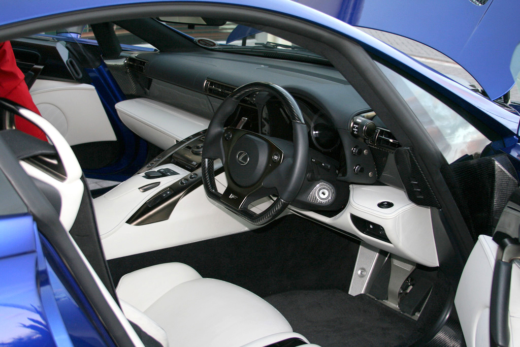 File:Lexus LFA Interior White Black