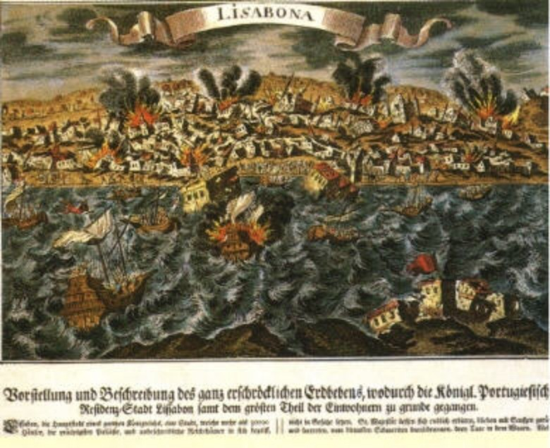 the lisbon earthquake The lisbon earthquake of 1755 famously shook the metaphysical optimism of europe's leading philosophers immanuel kant would eventually manage its threat in the analytic of the sublime of his 1790 critique of judgment in the twentieth century, human-inflicted catastrophes have supplanted the.
