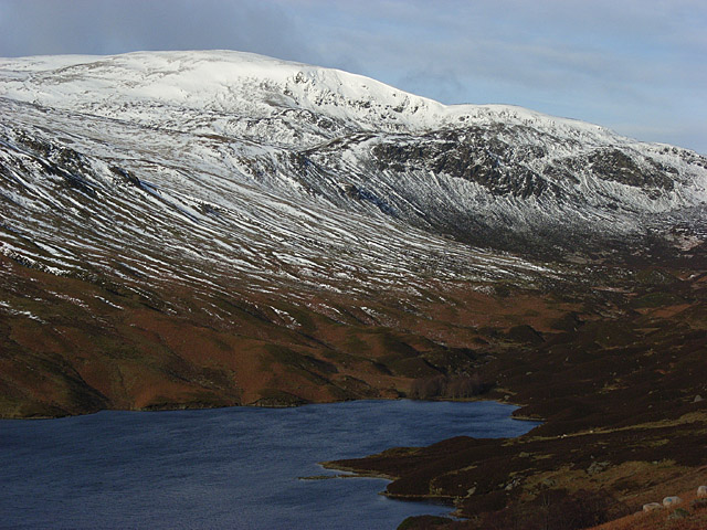 Loch Turret and Ben Chonzie - geograph.org.uk - 324615