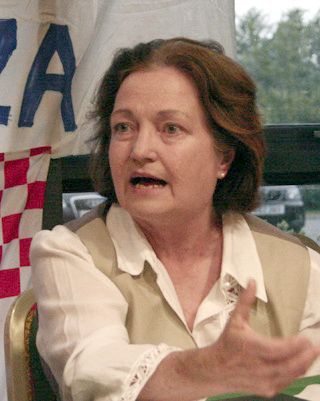 Mairead Maguire, July 2009