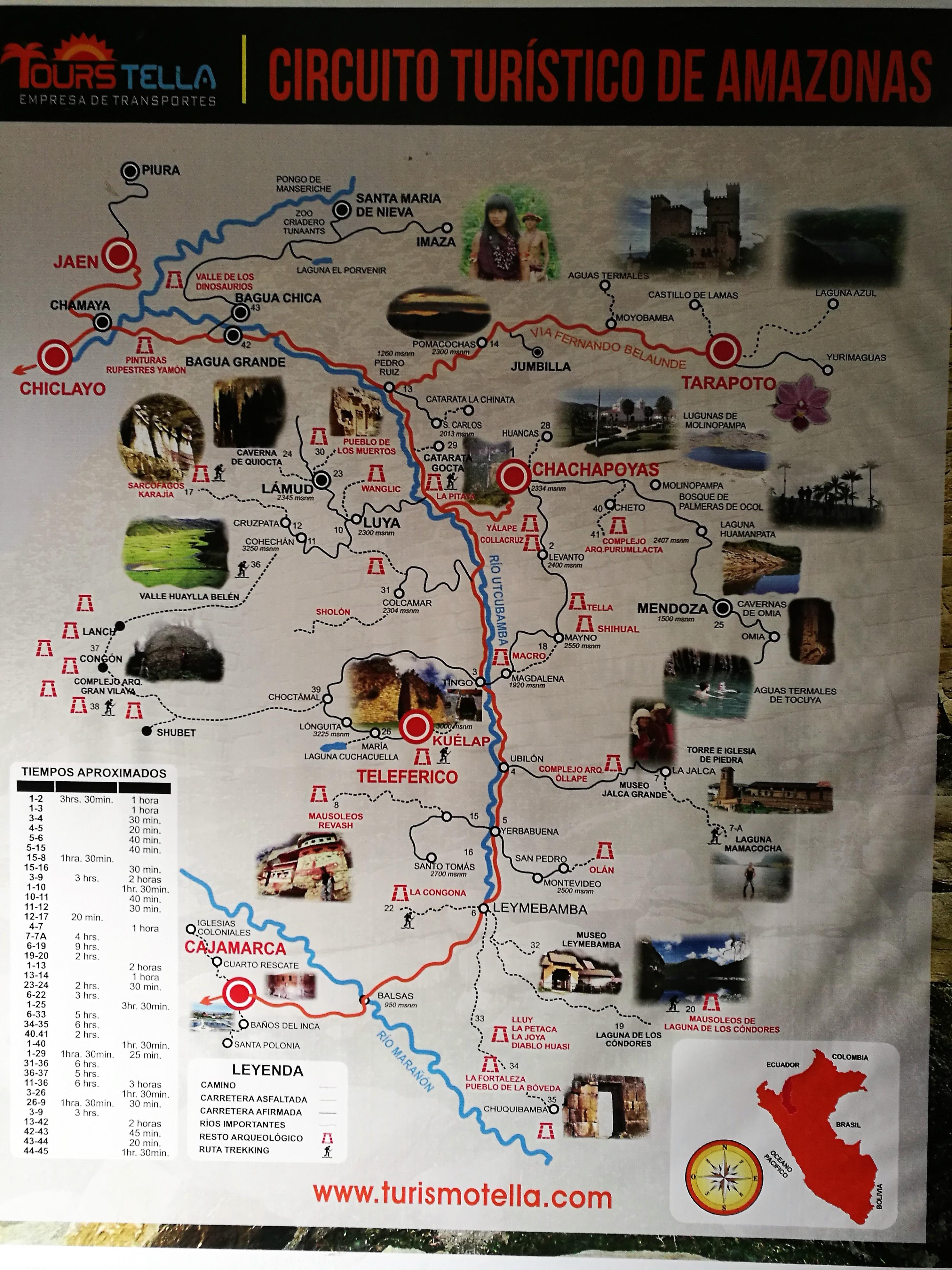 File Mapa Turistic De La Zona De Chachapoyas Jpg Wikimedia Commons