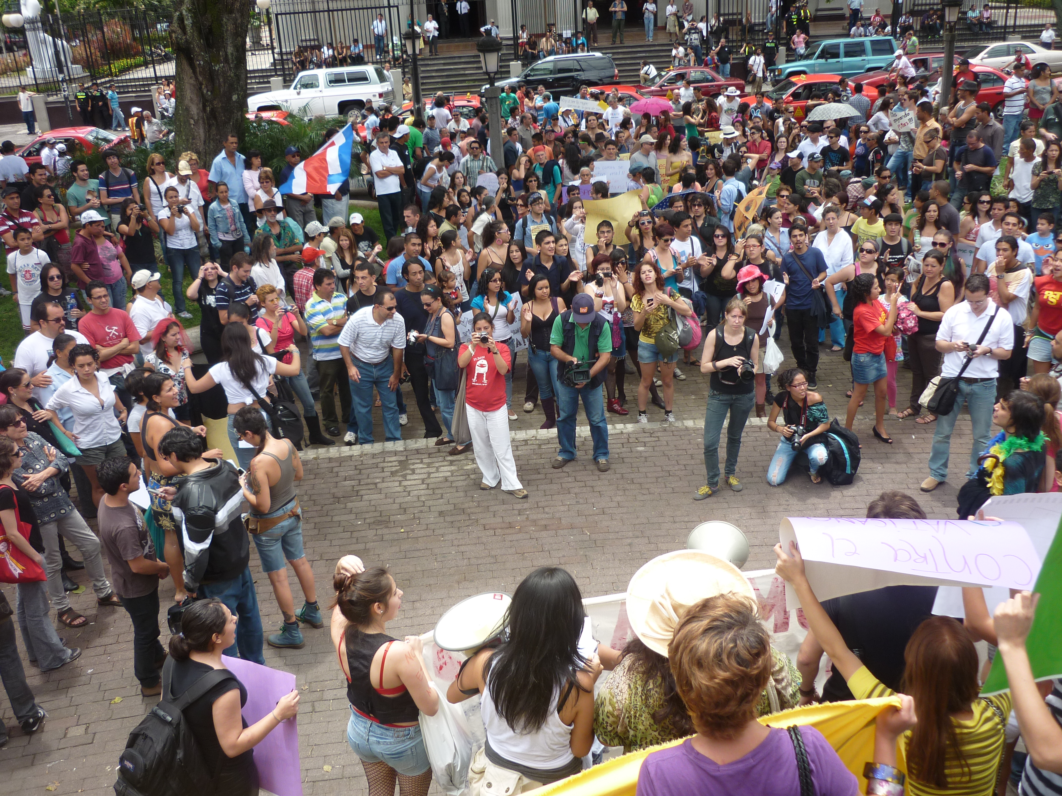 Description Marcha de las putas en Costa Rica, 2011 -9.jpg