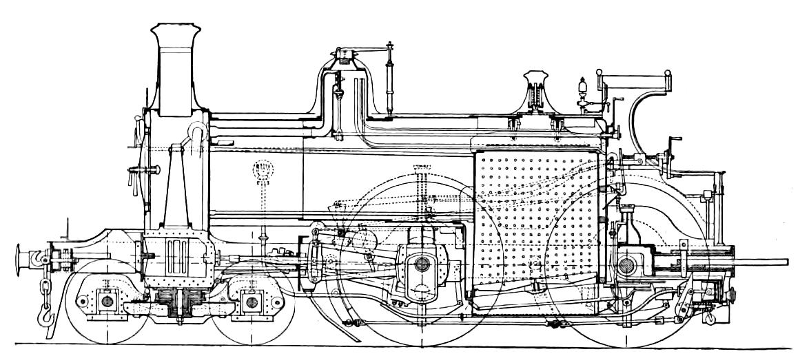 diesel locomotive diagram