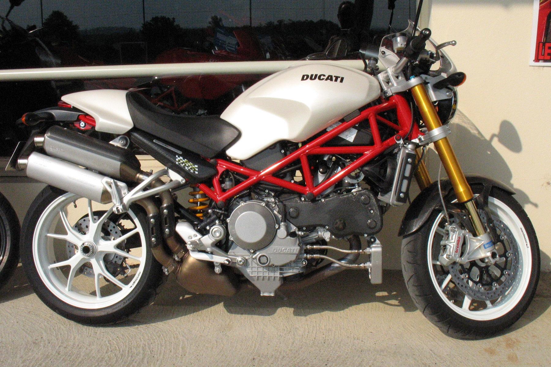 Ducati Monster Exhaust Options