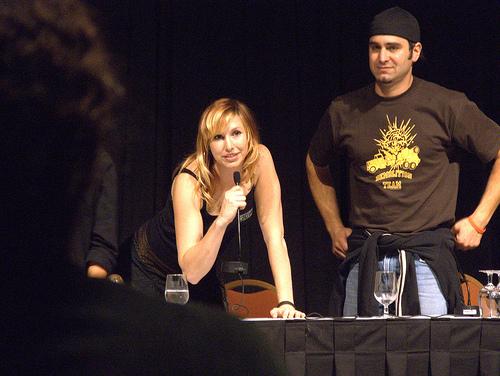 Tory belleci and kari byron dating