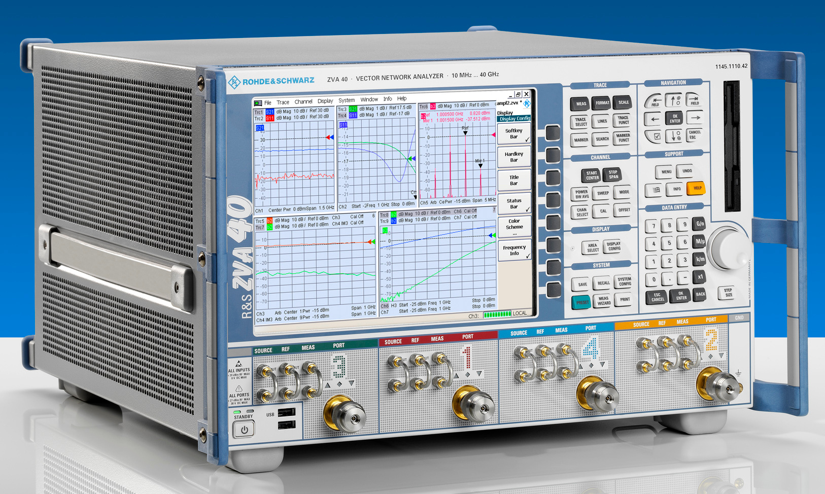Low Frequency Vector Network Analyzer (VNA)