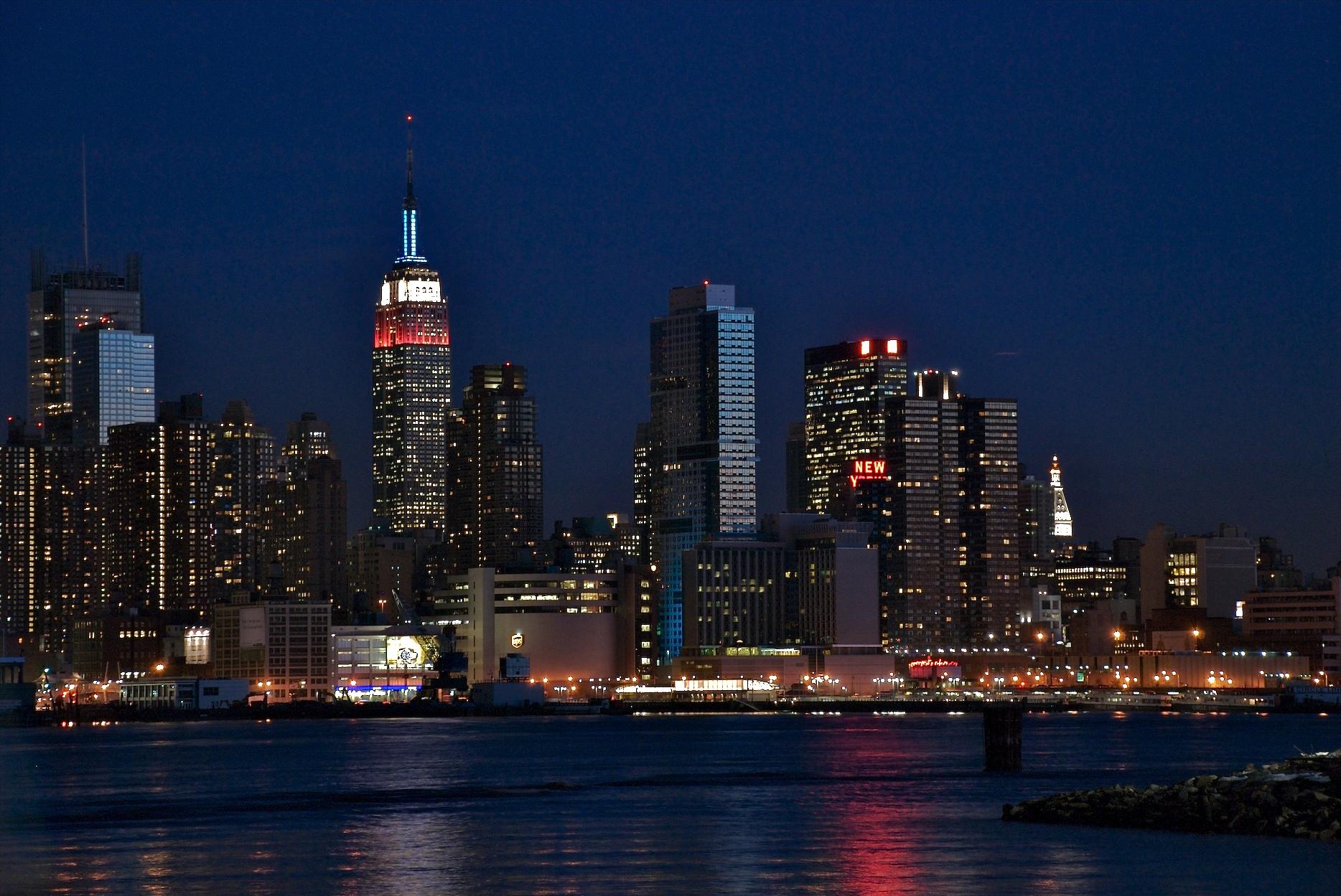new york at night - photo #36