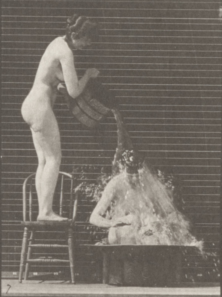 http://upload.wikimedia.org/wikipedia/commons/2/28/Nude_woman_pouring_a_bucket_of_water_over_another_nude_woman_%28rbm-QP301M8-1887-406a~7%29.jpg