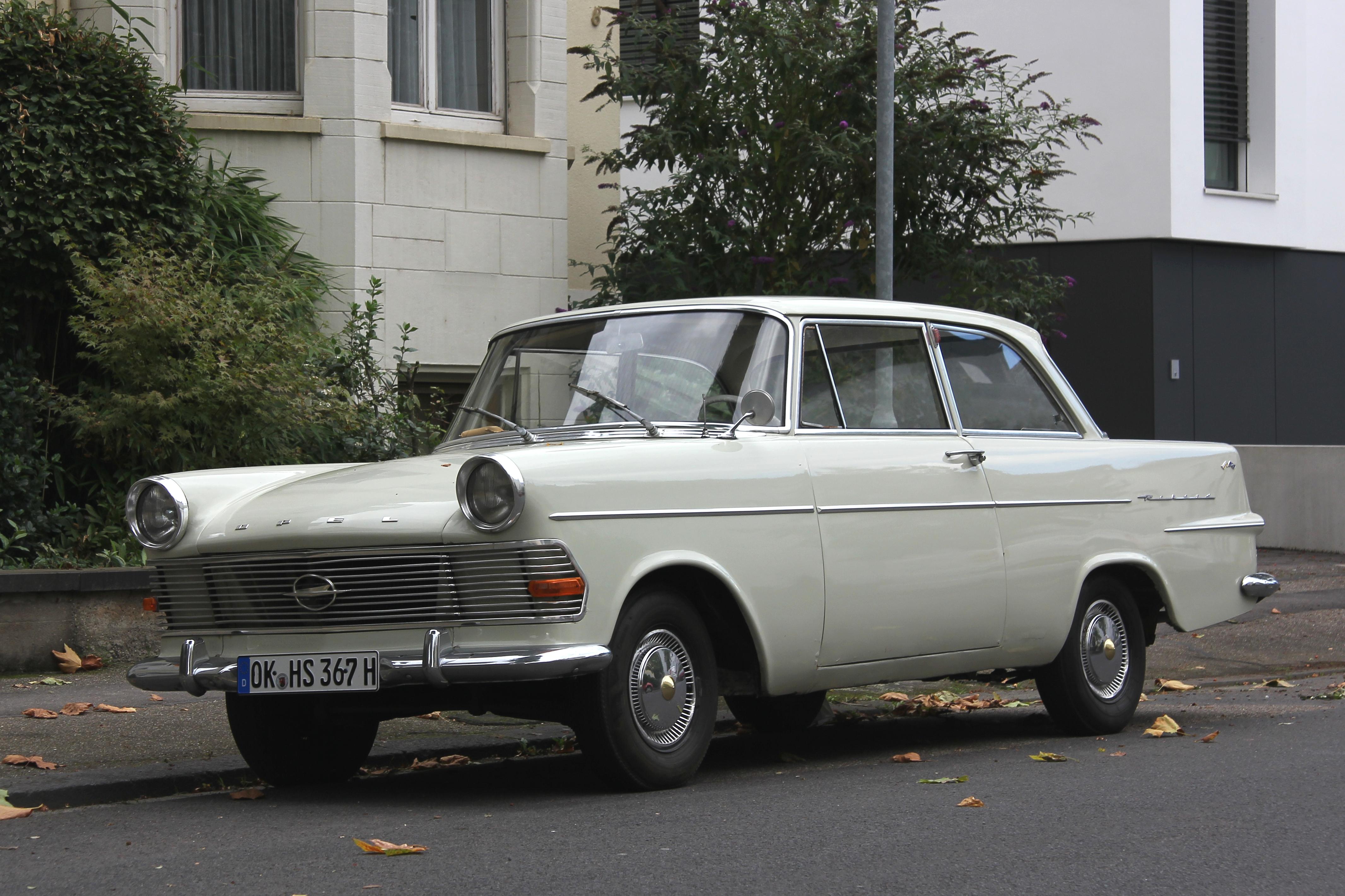File Opel Rekord P2 Front 2012 09 28 Sp Jpg Wikimedia Commons