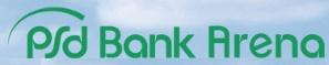 Logo der PSD Bank Arena