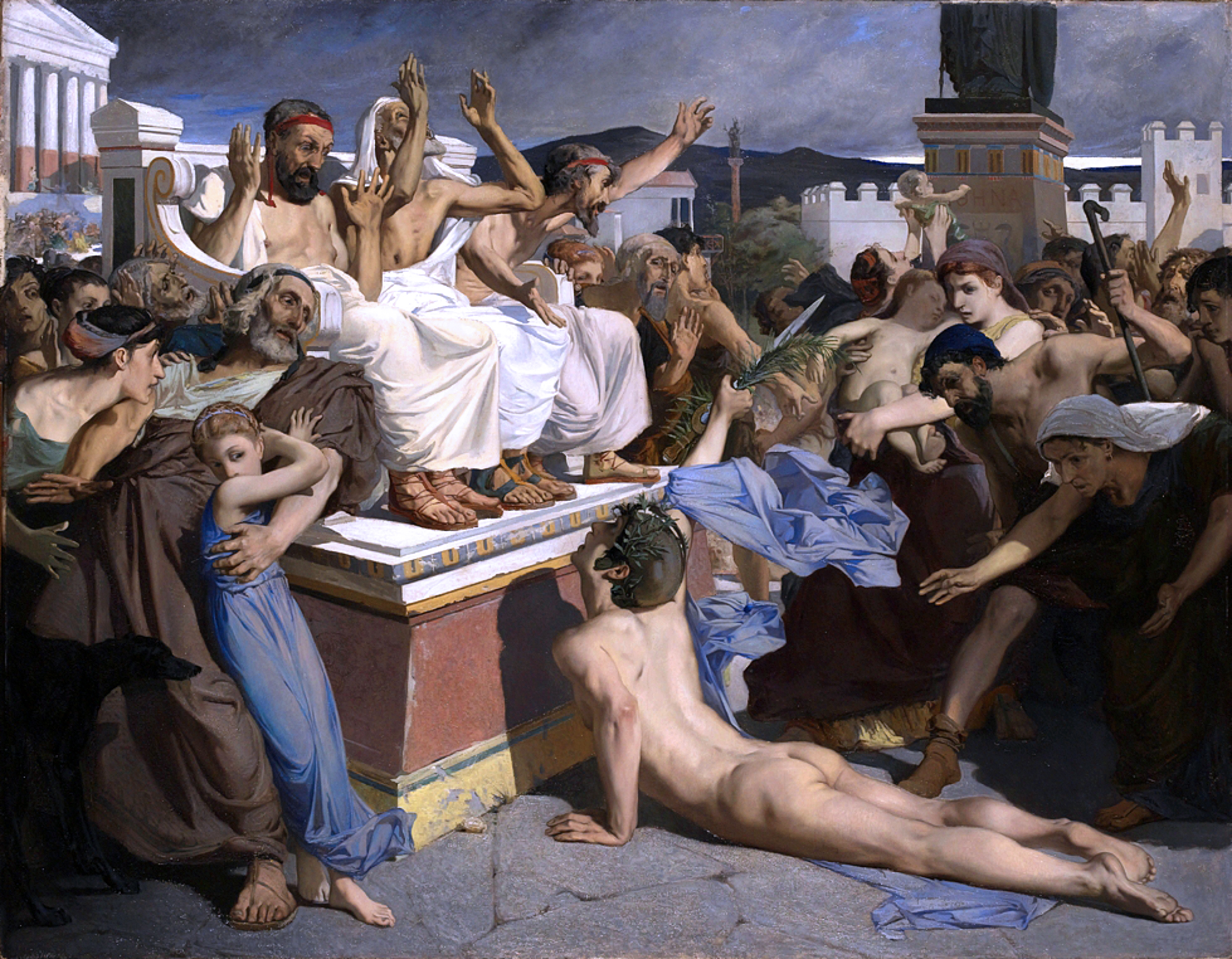 Pheidippides Luc-Olivier Merson painting