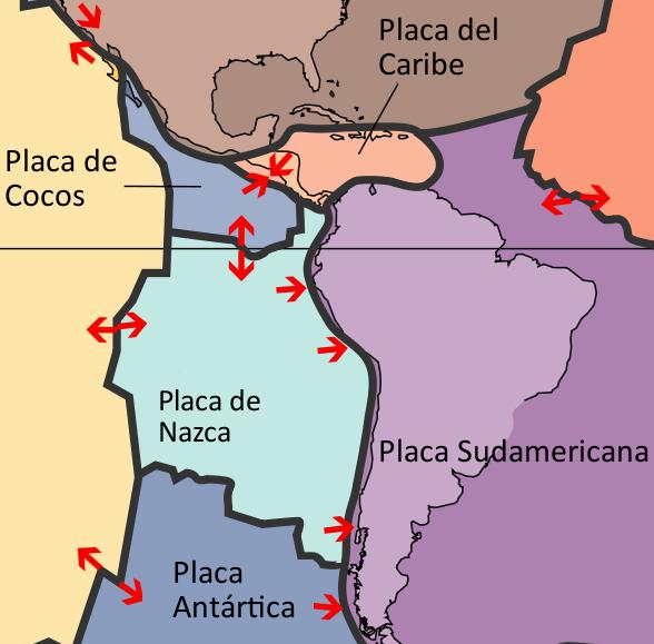 Placa De Nazca Wikipedia La Enciclopedia Libre