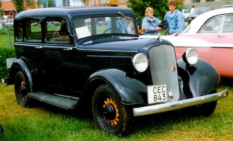 35 Plymouth 2 Door Sedan Autos Post