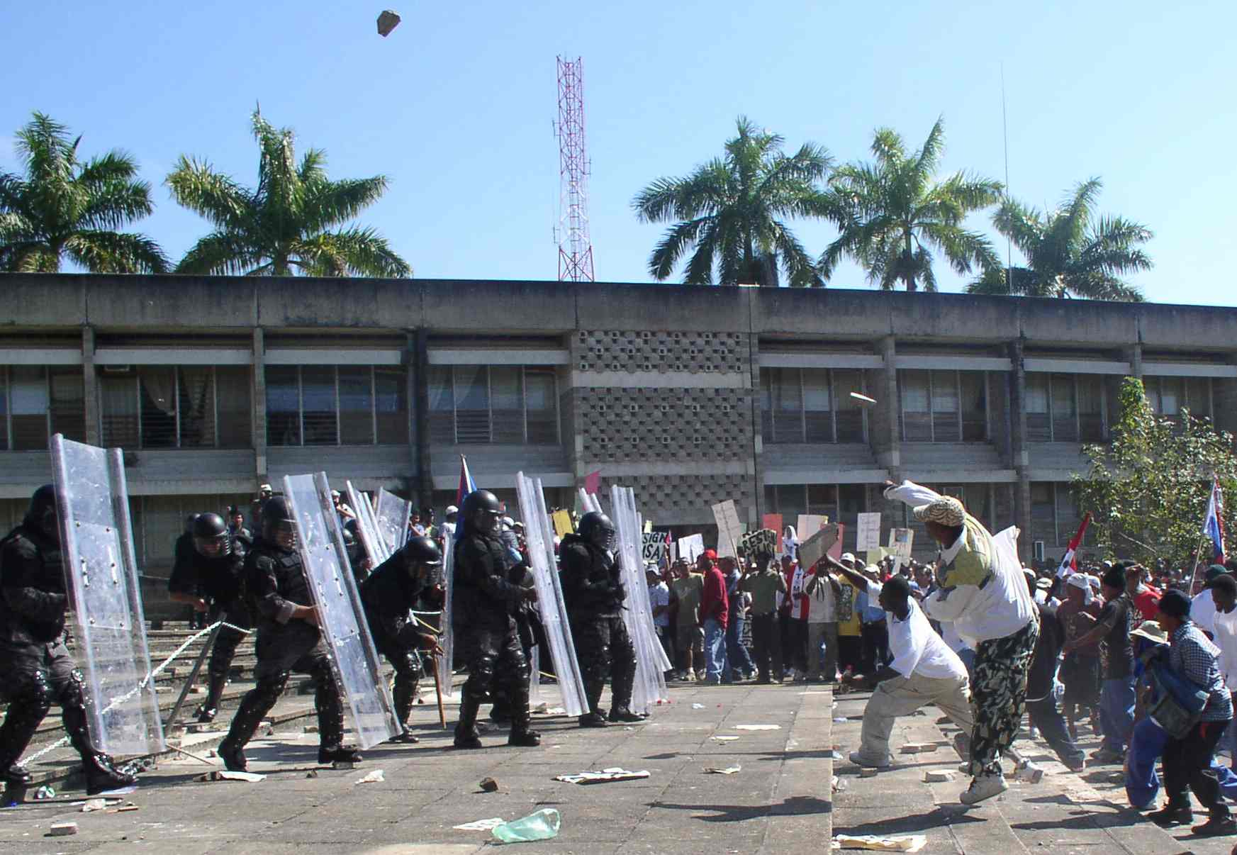 Belizian protests
