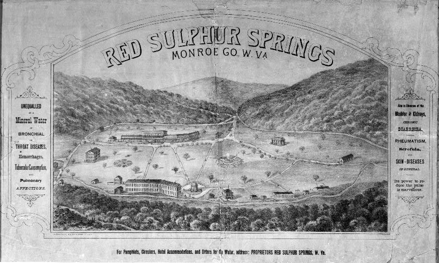 red sulphur springs hotel