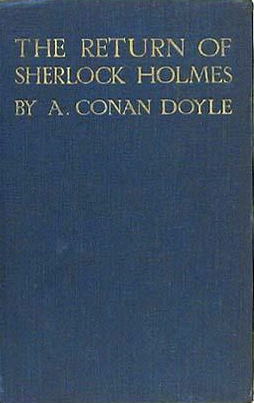 cover of The Return of Sherlock Holmes, by Art...