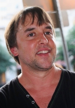 English: Richard Linklater at the 2007 premier...