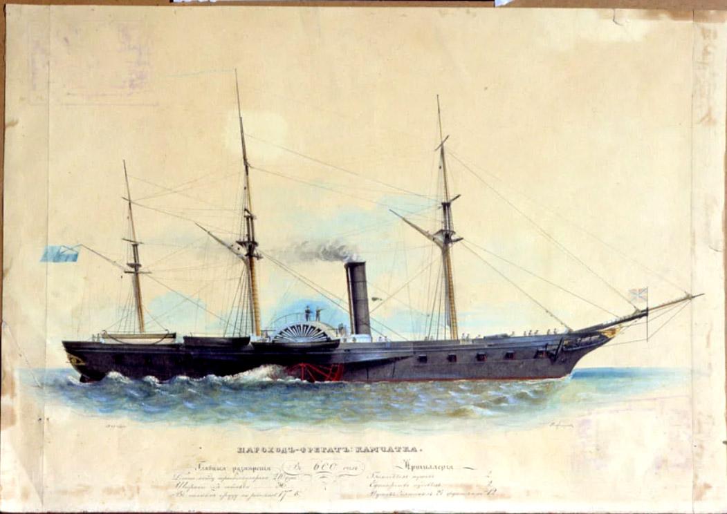 Камчатка (пароходо-фрегат) — Википедия