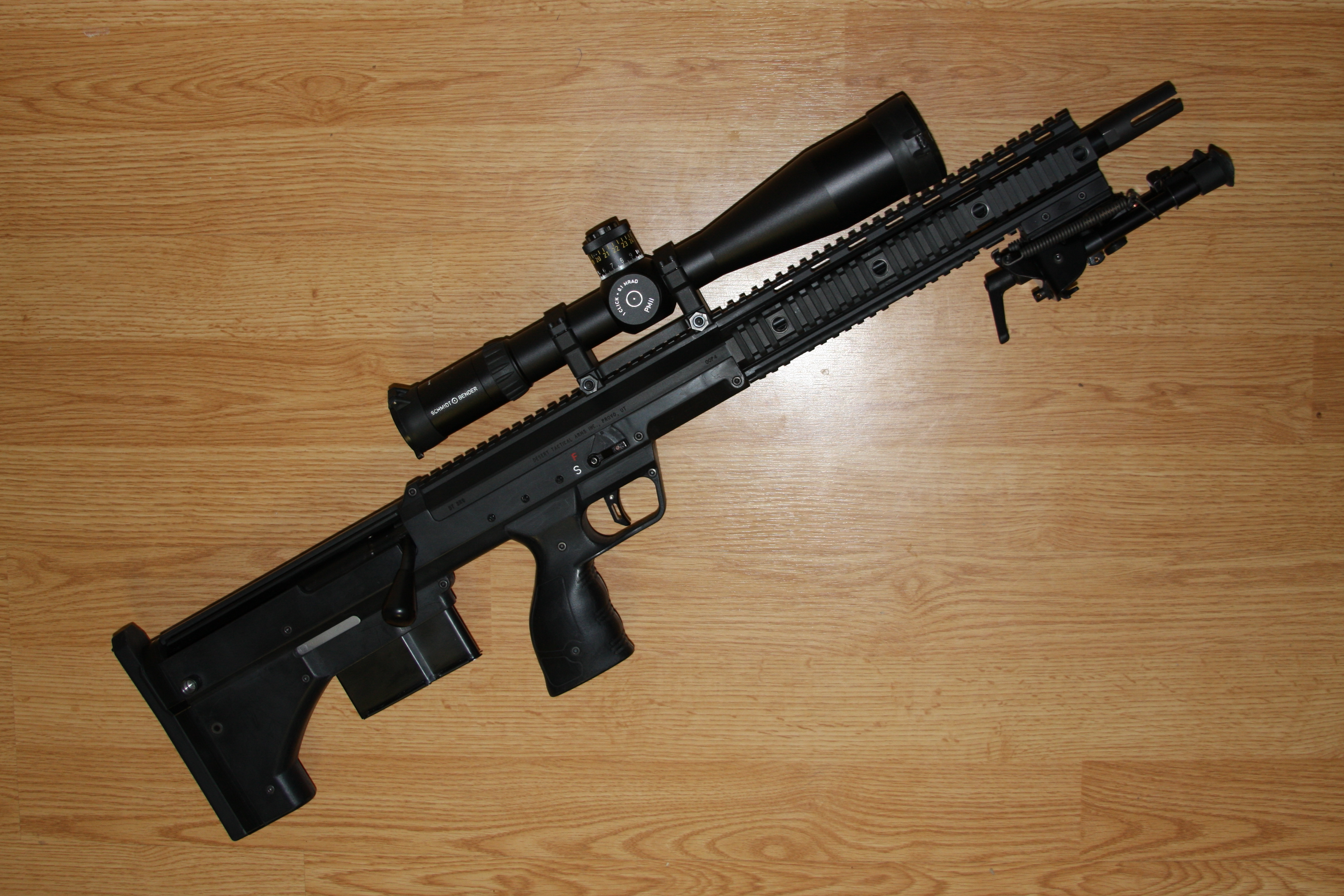 SRS 308 with flashhider