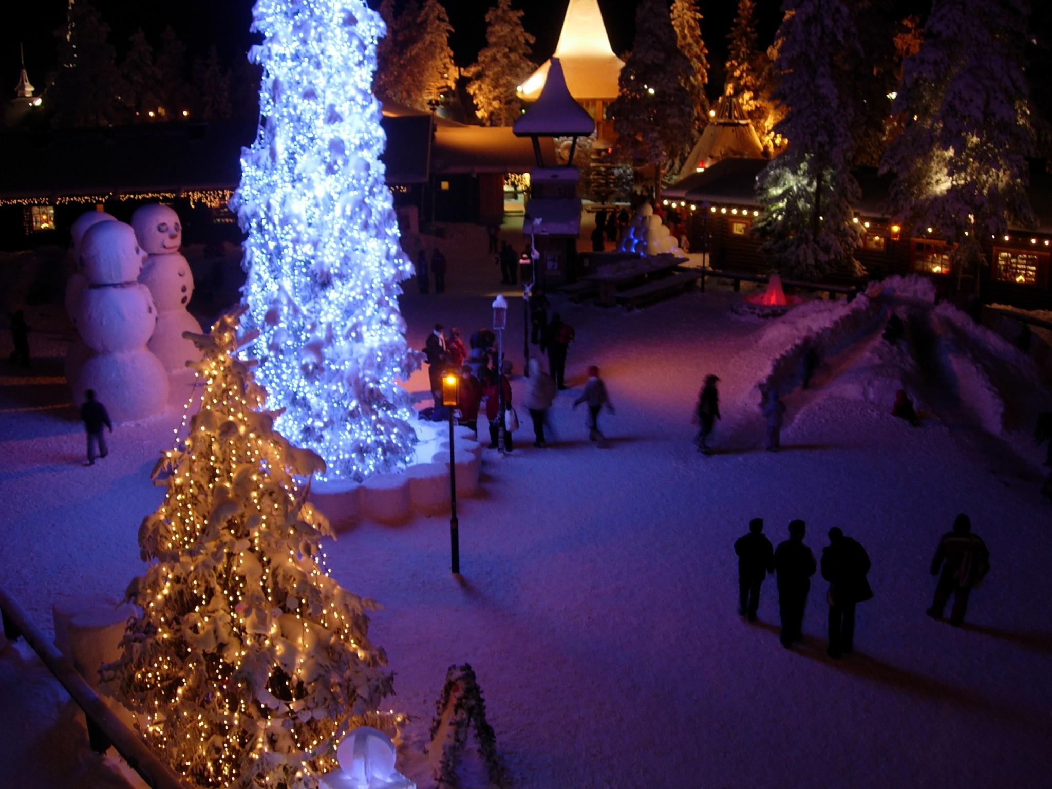 Dov E Babbo Natale.Santa Claus Village Wikipedia