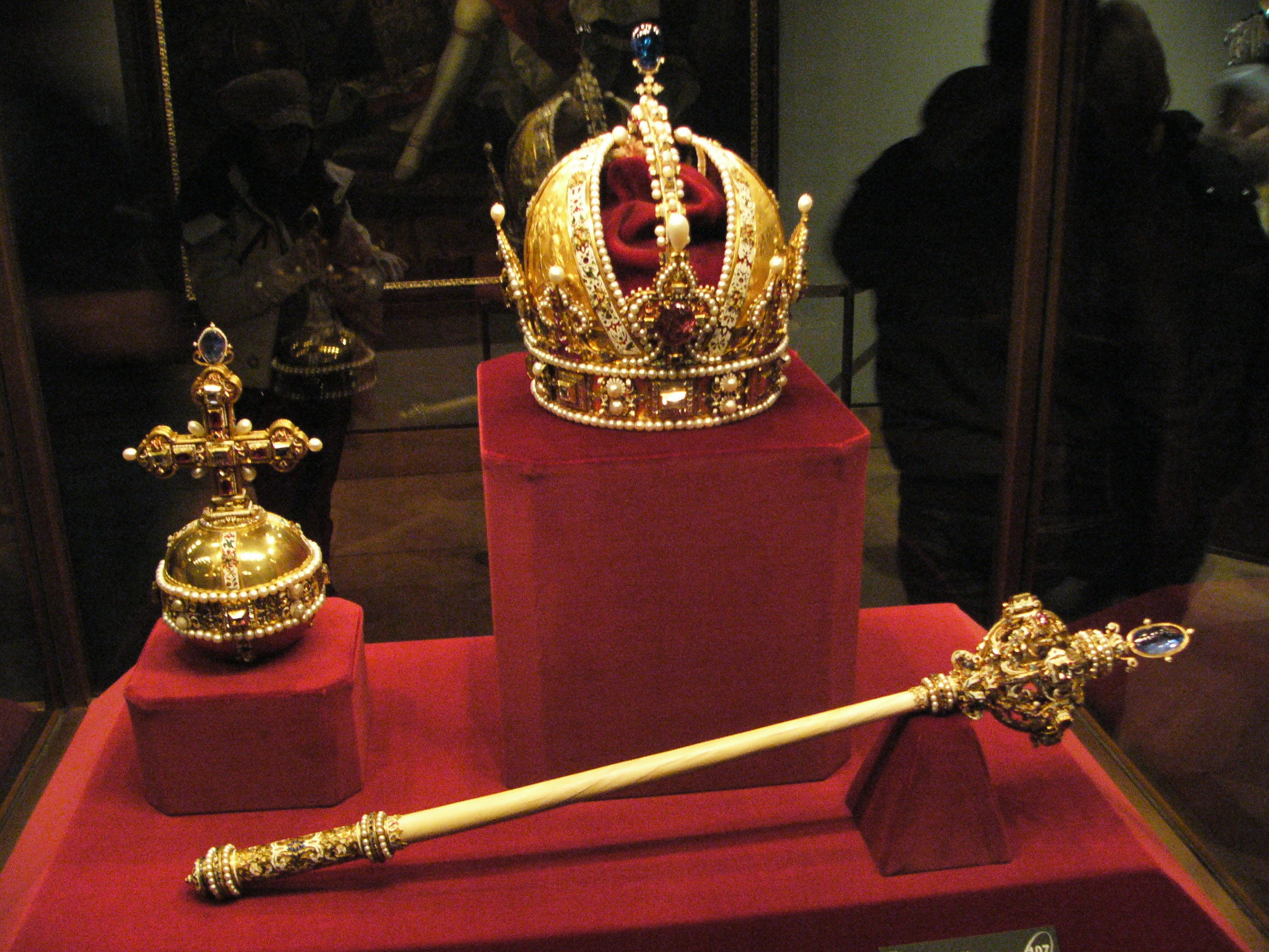 File:Sceptre and Orb and Imperial Crown of Austria.jpg - Wikipedia ...