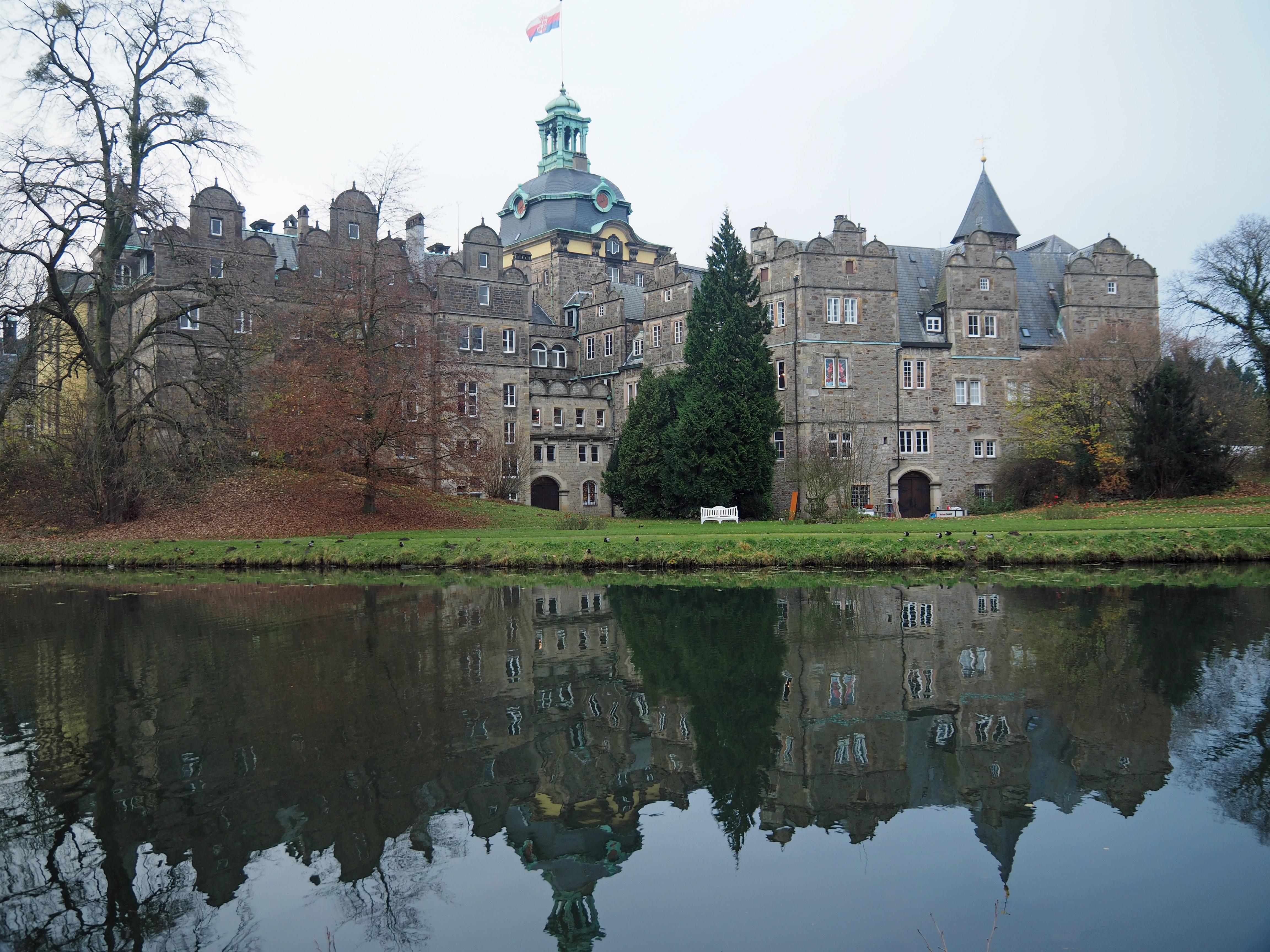 Schloss Bückeburg Rückansicht.JPG
