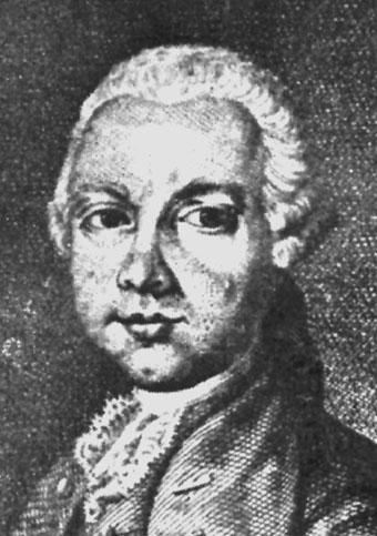 Depiction of Giovanni Antonio Scopoli