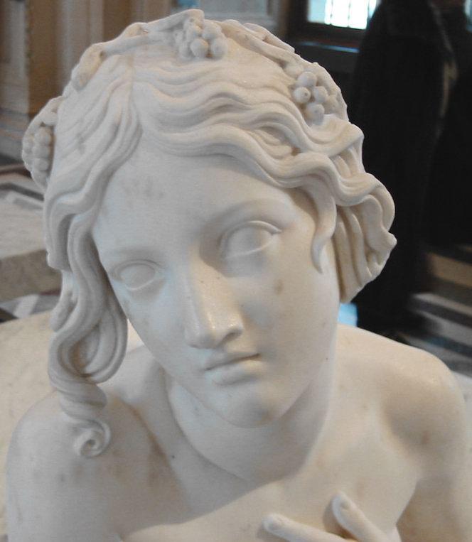 statue de jardin en pierre