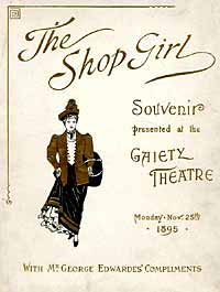 <i>The Shop Girl</i> musical comedy by H. J. W. Dam