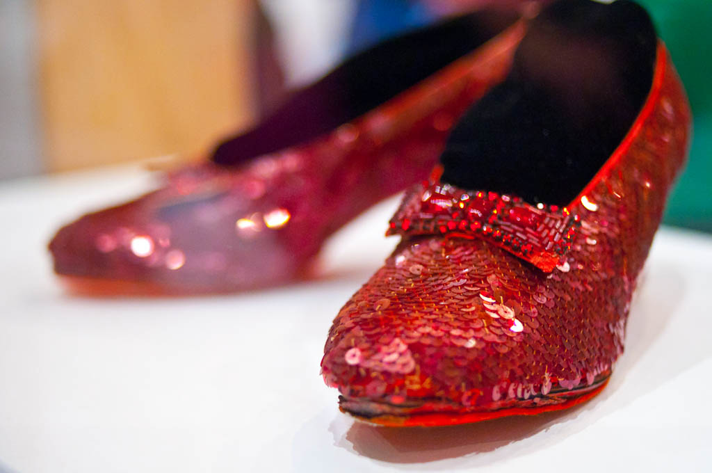 Ruby Red Shoes Doll