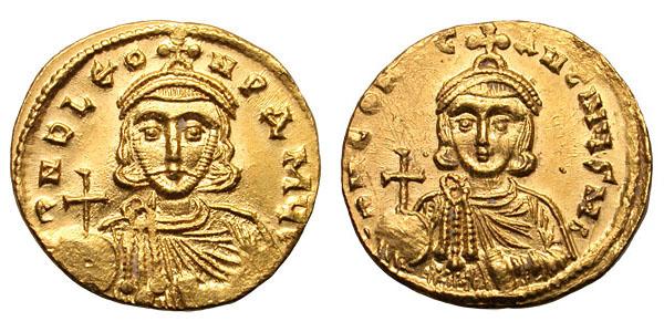 Solidus-Leo III and Constantine V-sb1504.jpg