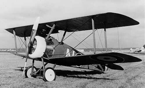 Sopwith F-1 Camel was an airplane used in World War One.