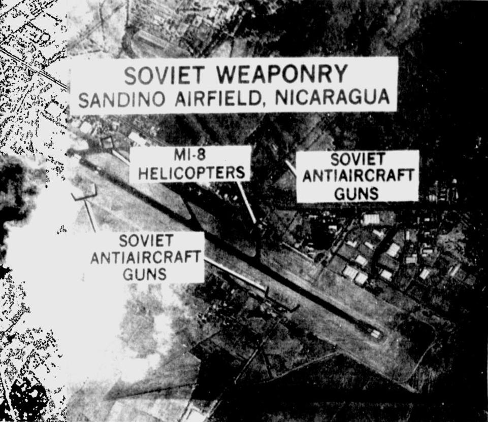 File:Soviet weaponry located at the Sandino Airfield, Nicaragua ...