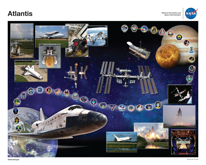 space shuttle atlantis poster - photo #5
