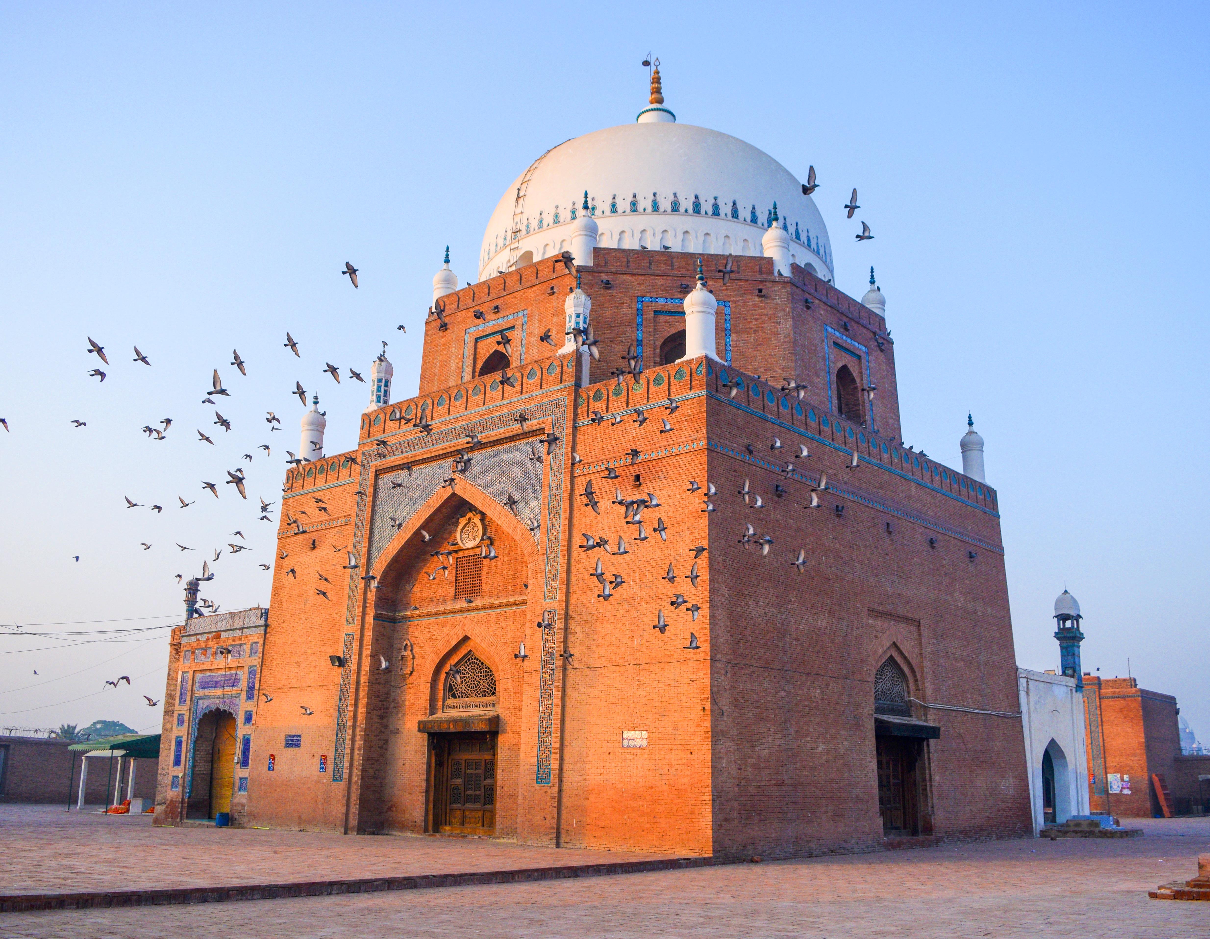Shrine of Bahauddin Zakariya - Wikipedia