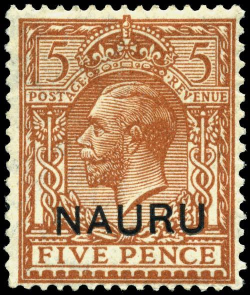 postage stamps and postal history of nauru wikiwand