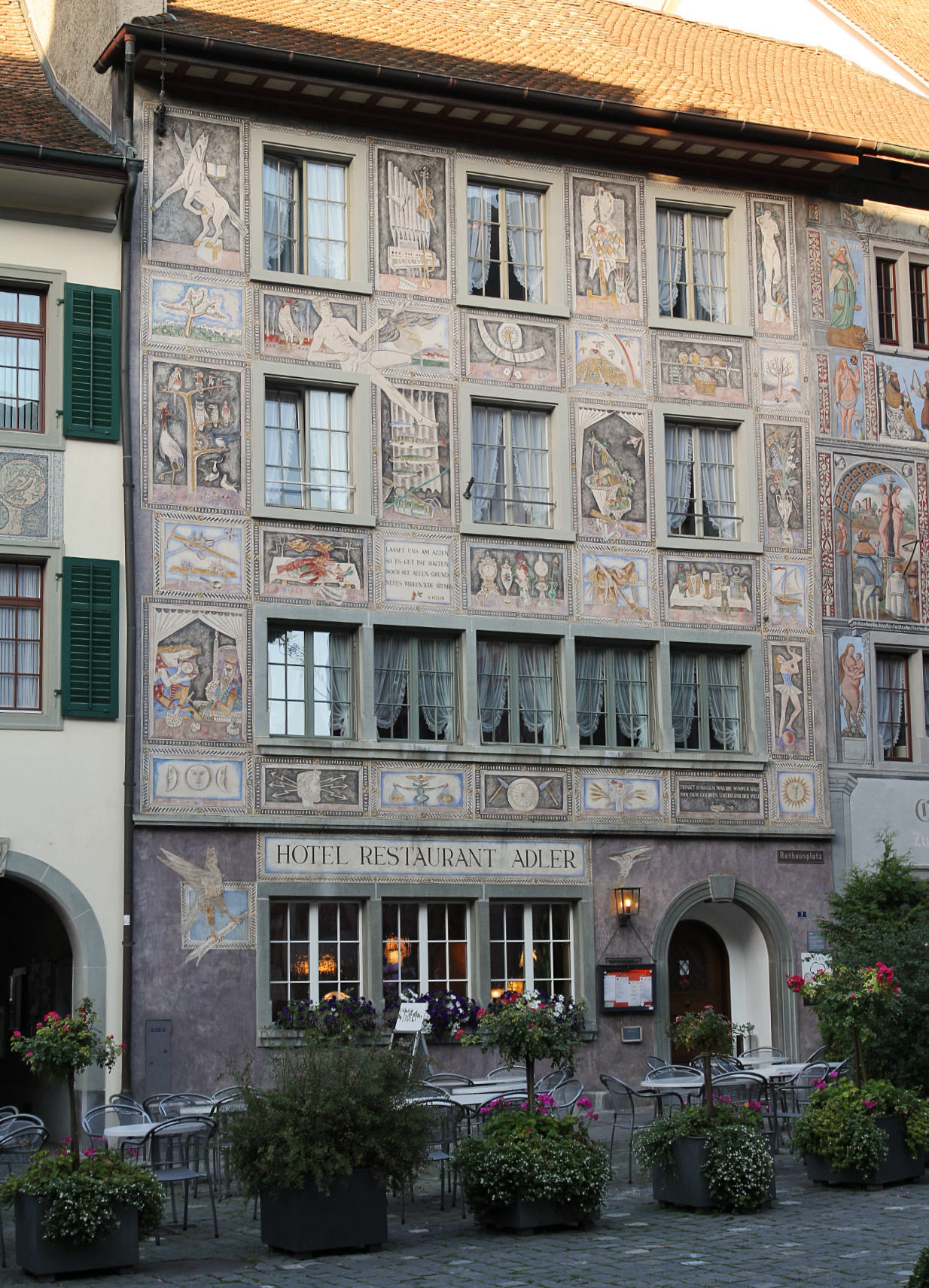 Hotel Adler Am Schloss In Bonnigheim Deutschland