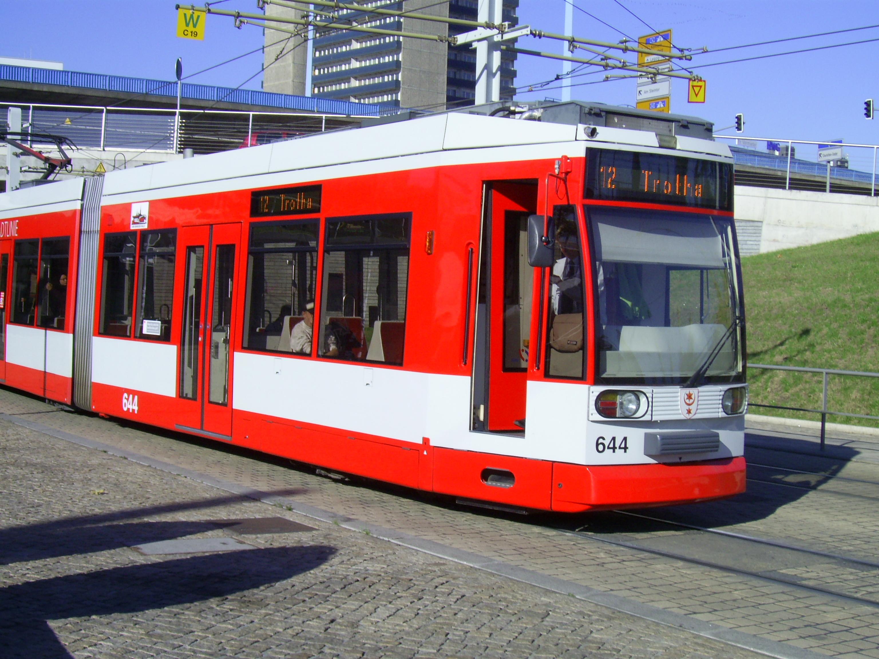 Strassenbahn Halle Saale Wikipedia