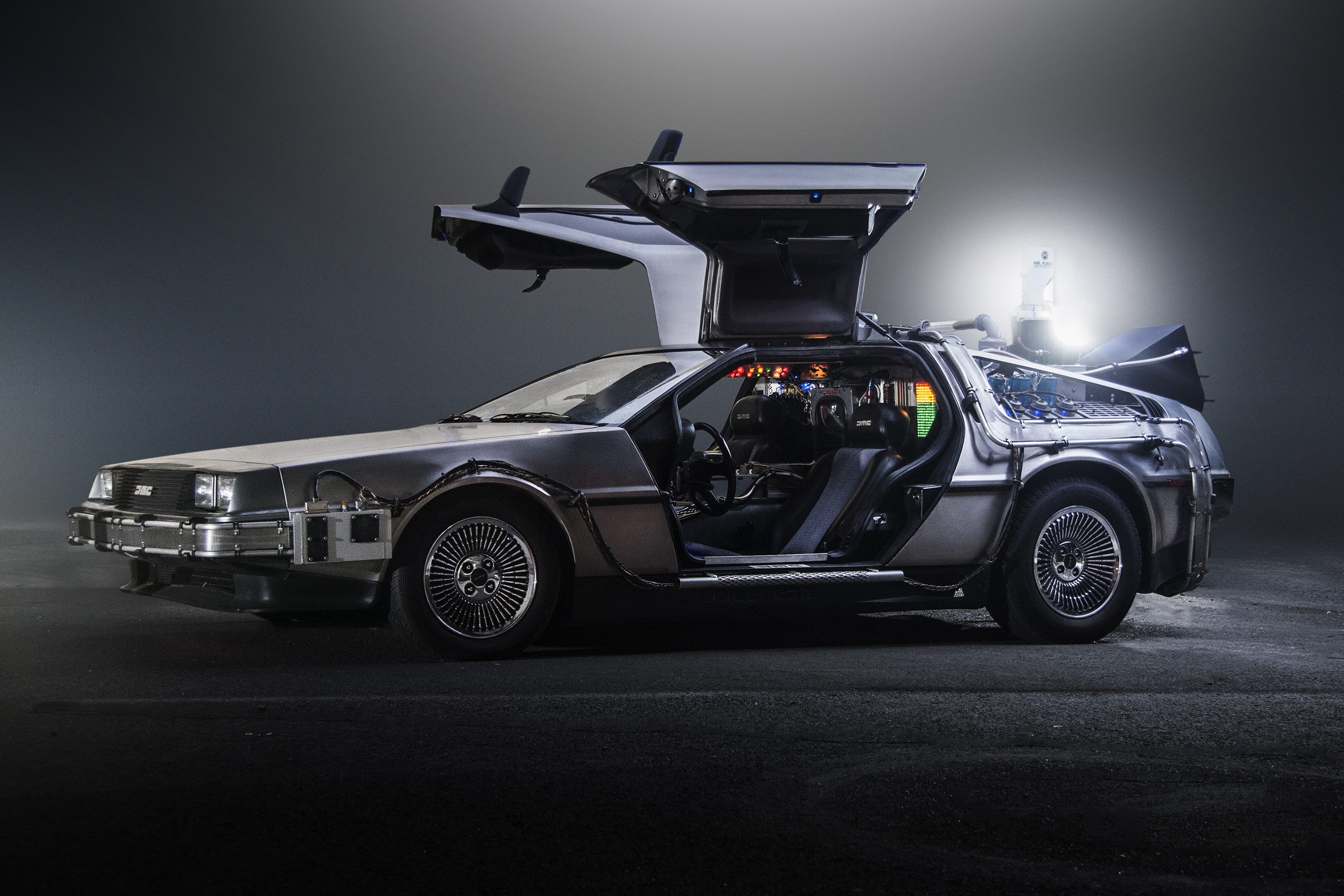 TeamTimeCar.com BTTF DeLorean Time Machine OtoGodfrey.com JMortonPhoto.com 07 - What if the Oppressor, Deluxo, Scramjet, Vigilante, Ruiner, etc. didn't have missiles?