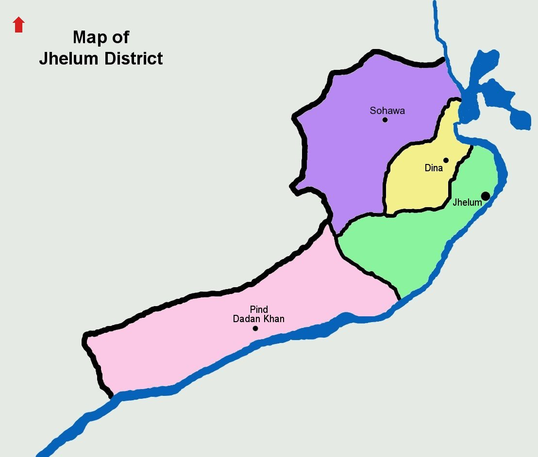 Tehsil wise map of Jhelum.jpg