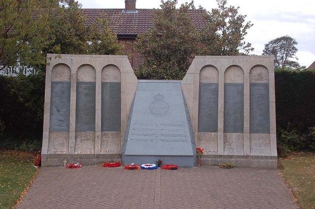 The Dam Busters Memorial. - geograph.org.uk - 1552470