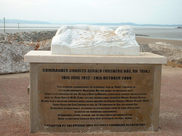 The Gerry Forsberg Memorial, Morecambe - geograph.org.uk - 32849