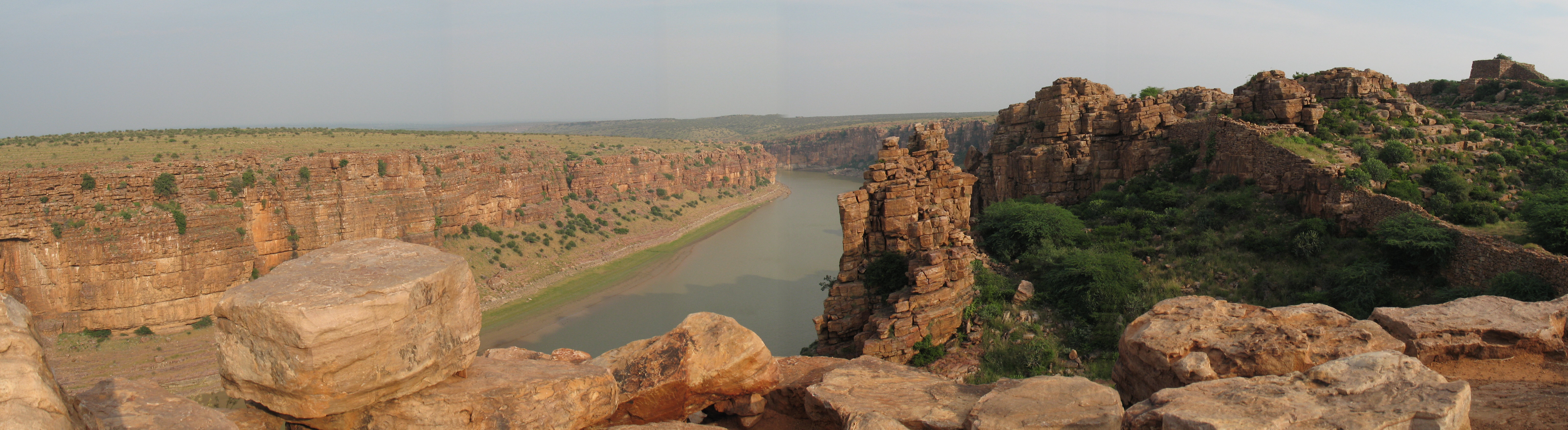 The Pennar river near Gandikota