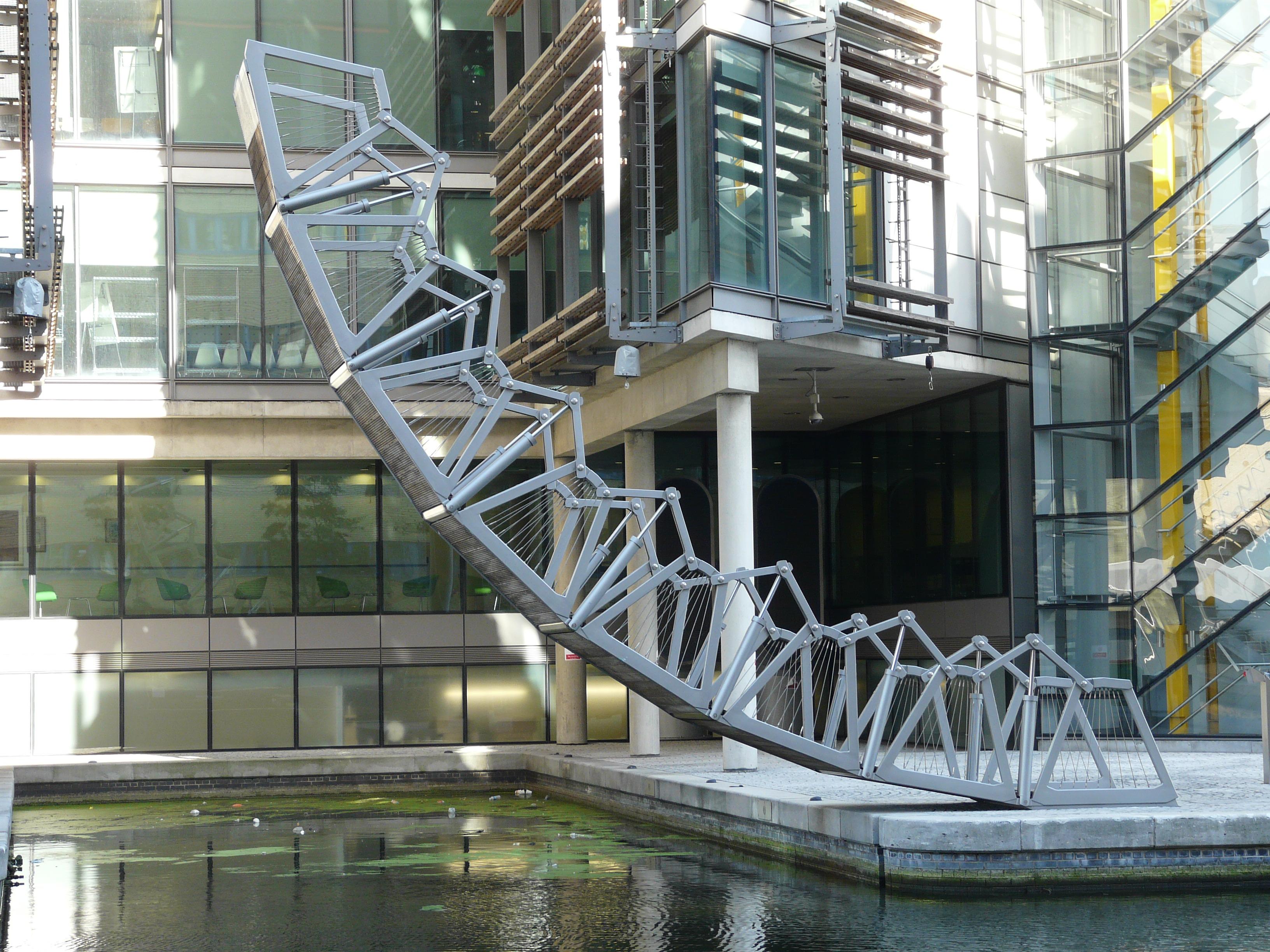 File The Rolling Bridge By Thomas Heatherwick Paddington