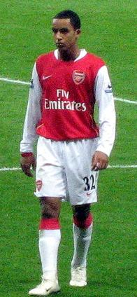 English football (soccer) player Theo Walcott