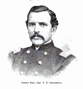 Thomas Edward Chickering Brigadier general in the United States Army during the American Civil War